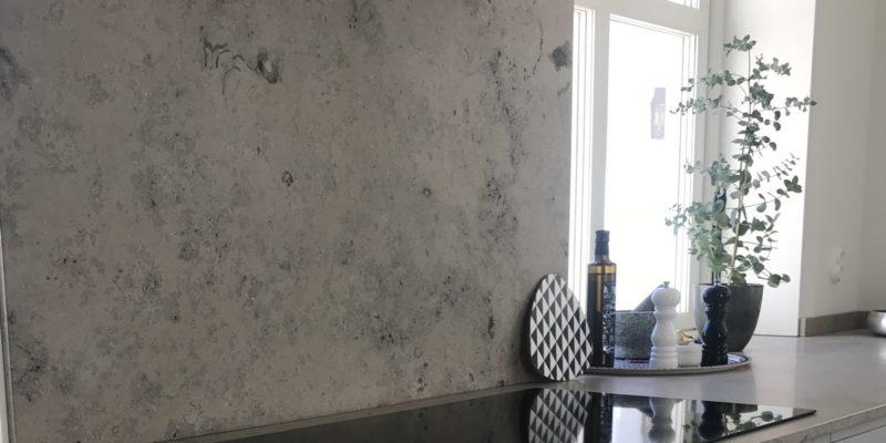 Limestone worktops – dinosaurs in your living room