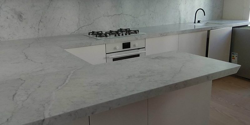 Marble worktops are still fashionable!