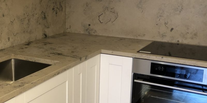 Jura Grey limestone continues to be trendy!