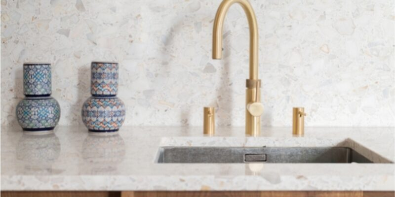 Artificial stone as a worktop material